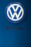 Λογότυπο αυτοκινήτων της VW, Στοκ Εικόνες