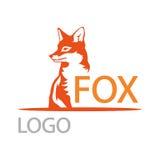 Λογότυπο αλεπούδων στοκ φωτογραφία με δικαίωμα ελεύθερης χρήσης