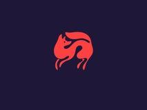 Λογότυπο αλεπούδων Στοκ Φωτογραφίες