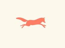 Λογότυπο αλεπούδων Στοκ Εικόνες