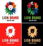 Λογότυπο βασιλιάδων λιονταριών Στοκ Φωτογραφία