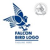 Λογότυπο 03 γερακιών πουλιών διανυσματική απεικόνιση