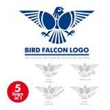 Λογότυπο 01 γερακιών πουλιών απεικόνιση αποθεμάτων