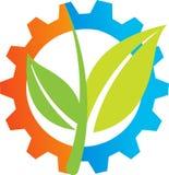 λογότυπο γεωργίας Στοκ Εικόνες