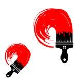 Λογότυπο για την επιχείρηση ή την αντιπροσωπεία ακίνητων περιουσιών Στοκ φωτογραφίες με δικαίωμα ελεύθερης χρήσης