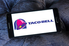 Λογότυπο γρήγορου φαγητού κουδουνιών Taco Στοκ εικόνες με δικαίωμα ελεύθερης χρήσης