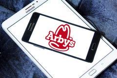 Λογότυπο γρήγορου φαγητού Arbys Στοκ Εικόνες
