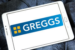 Λογότυπο γρήγορου φαγητού Greggs Στοκ Εικόνες