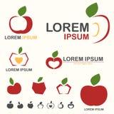 Λογότυπο γραμμών της Apple Στοκ φωτογραφίες με δικαίωμα ελεύθερης χρήσης