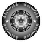 Λογότυπο γυμναστικής Στοκ Φωτογραφία