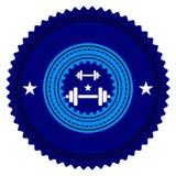 Λογότυπο γυμναστικής Στοκ Εικόνες