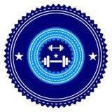 Λογότυπο γυμναστικής Στοκ εικόνες με δικαίωμα ελεύθερης χρήσης