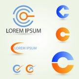 Λογότυπο Γ Στοκ φωτογραφίες με δικαίωμα ελεύθερης χρήσης