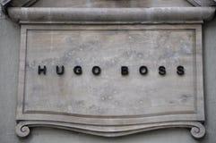 Λογότυπο εμπορικών σημάτων μόδας στοκ εικόνες