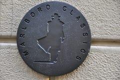 Λογότυπο εμπορικών σημάτων μόδας στοκ φωτογραφία