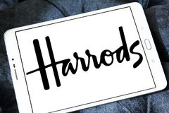 Λογότυπο εμπορικών σημάτων Harrods Στοκ Φωτογραφία