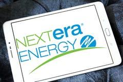 Λογότυπο ενεργειακής επιχείρησης Nextera Στοκ φωτογραφία με δικαίωμα ελεύθερης χρήσης
