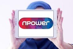 Λογότυπο ενεργειακής επιχείρησης Npower Στοκ φωτογραφία με δικαίωμα ελεύθερης χρήσης