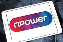 Λογότυπο ενεργειακής επιχείρησης Npower Στοκ φωτογραφίες με δικαίωμα ελεύθερης χρήσης