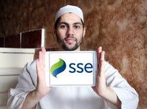 Λογότυπο ενεργειακής επιχείρησης Sse Στοκ εικόνες με δικαίωμα ελεύθερης χρήσης