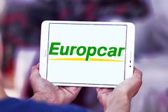Λογότυπο ενοικίου αυτοκινήτων Europcar Στοκ φωτογραφία με δικαίωμα ελεύθερης χρήσης