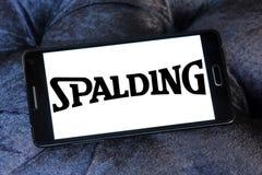 Λογότυπο επιχείρησης αθλητικού εξοπλισμού Spalding Στοκ εικόνα με δικαίωμα ελεύθερης χρήσης