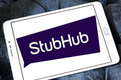 Λογότυπο επιχείρησης ανταλλαγής εισιτηρίων StubHub Στοκ φωτογραφίες με δικαίωμα ελεύθερης χρήσης