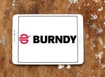 Λογότυπο επιχείρησης ηλεκτρονικής Burndy στοκ φωτογραφία