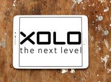 Λογότυπο επιχείρησης ηλεκτρονικής XOLO Στοκ Εικόνες