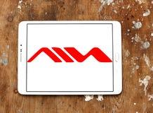Λογότυπο επιχείρησης καταναλωτικών ηλεκτρονικά Aiwa Στοκ Εικόνες