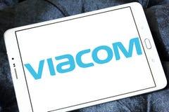 Λογότυπο επιχείρησης μέσων Viacom Στοκ Εικόνες
