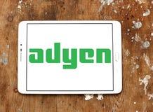Λογότυπο επιχείρησης πληρωμής Adyen Στοκ Φωτογραφίες