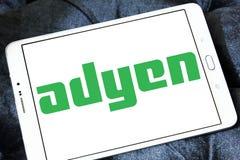 Λογότυπο επιχείρησης πληρωμής Adyen Στοκ φωτογραφίες με δικαίωμα ελεύθερης χρήσης