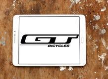 Λογότυπο επιχείρησης ποδηλάτων της GT Στοκ φωτογραφίες με δικαίωμα ελεύθερης χρήσης