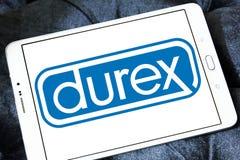 Λογότυπο επιχείρησης προφυλακτικών Durex Στοκ Εικόνες