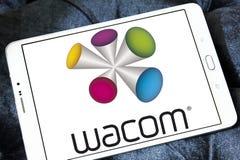 Λογότυπο επιχείρησης τεχνολογίας Wacom Στοκ φωτογραφίες με δικαίωμα ελεύθερης χρήσης