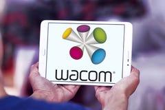 Λογότυπο επιχείρησης τεχνολογίας Wacom Στοκ Εικόνες