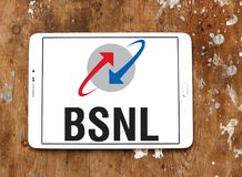 Λογότυπο επιχείρησης τηλεπικοινωνιών BSNL Στοκ εικόνες με δικαίωμα ελεύθερης χρήσης