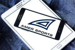 Λογότυπο επιχείρησης της Amer Sports Στοκ εικόνες με δικαίωμα ελεύθερης χρήσης