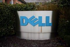 Λογότυπο επιχείρησης της Dell Στοκ φωτογραφία με δικαίωμα ελεύθερης χρήσης
