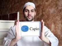 Λογότυπο επιχείρησης υγειονομικής περίθαλψης Capio Στοκ εικόνα με δικαίωμα ελεύθερης χρήσης