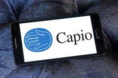 Λογότυπο επιχείρησης υγειονομικής περίθαλψης Capio Στοκ φωτογραφίες με δικαίωμα ελεύθερης χρήσης