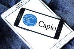 Λογότυπο επιχείρησης υγειονομικής περίθαλψης Capio Στοκ Εικόνες