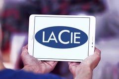 Λογότυπο επιχείρησης υλικού υπολογιστών LaCie Στοκ εικόνα με δικαίωμα ελεύθερης χρήσης