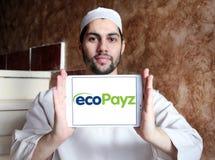 Λογότυπο επιχείρησης υπηρεσιών πληρωμής EcoPayz Στοκ Εικόνες
