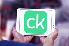 Λογότυπο επιχείρησης χρηματοδότησης πιστωτικού Karma Στοκ Εικόνες