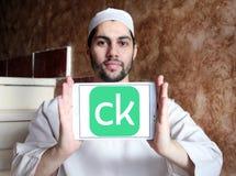 Λογότυπο επιχείρησης χρηματοδότησης πιστωτικού Karma Στοκ φωτογραφία με δικαίωμα ελεύθερης χρήσης