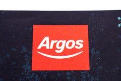 Λογότυπο επιχείρησης Argos Στοκ φωτογραφία με δικαίωμα ελεύθερης χρήσης