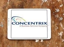 Λογότυπο επιχείρησης Concentrix Στοκ φωτογραφίες με δικαίωμα ελεύθερης χρήσης