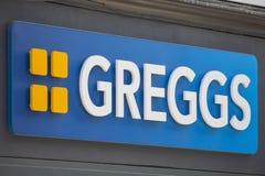 Λογότυπο επιχείρησης Greggs Στοκ Εικόνες